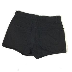 b04d2a334e6 GAP Shorts - Gap Womens Black Denim Jean Shorts Button Fly Sz 8